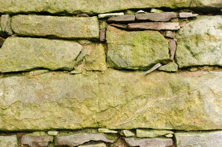 Old stone wall texture for background photo