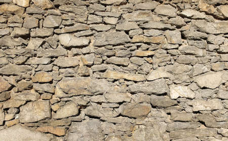 Old stone wall for texture photo