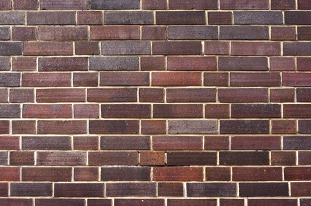 Wall texture for background with brown bricks Stock Photo - 9190310