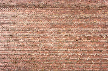 Wall texture for background with small brown bricks Stock Photo - 9190328