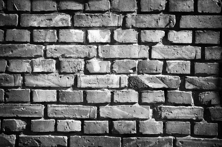 revetment: Old brick wall in retro style Stock Photo