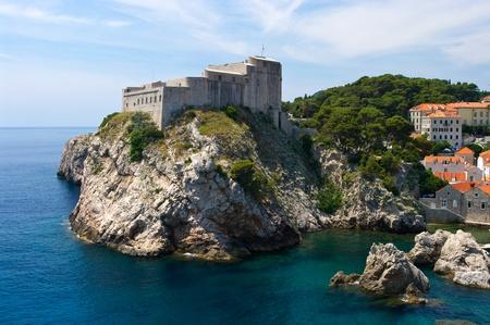 Citadel in Dubrovnik, Croatia photo