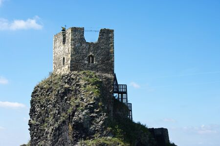 Ruins of Trosky castle in Bohemian Paradise photo