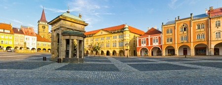 Jicin town square, Czech Republic