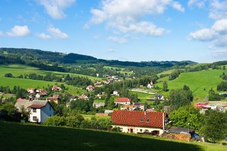 체코 낙원의 마을
