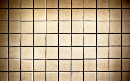 Tiles background in vintage style photo