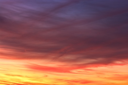 Colorful sky texture photo
