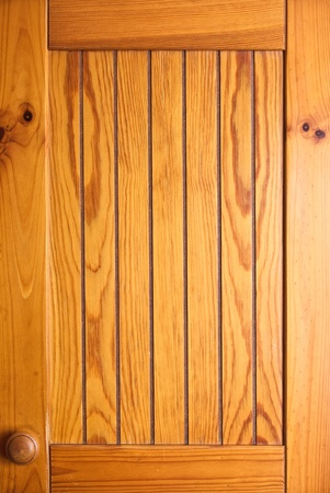 Wooden cabinet door photo