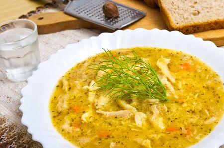 trippa: Traditional polish tripe soup