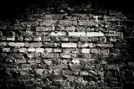 brick clay: Old wall