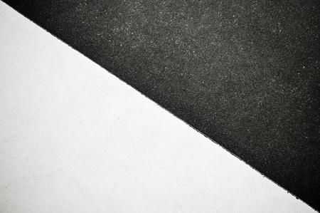 분할 흑백 종이