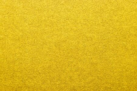 Yellow surface of grained paper