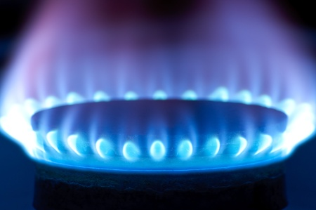 cocinas industriales: Quemadores de gas en el horno de la cocina