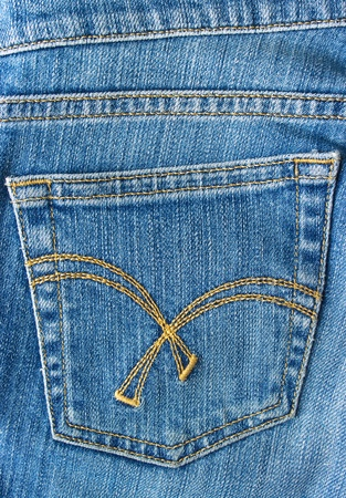 Jeans pocket photo