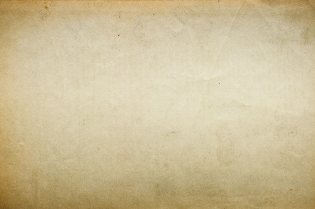 Old blank paper for background