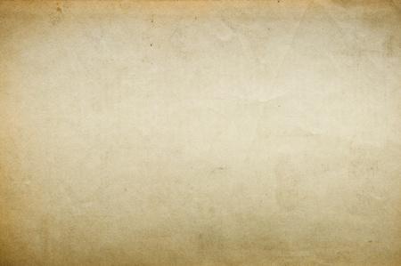 wrinkled paper: Oude blanco papier voor achtergrond Stockfoto