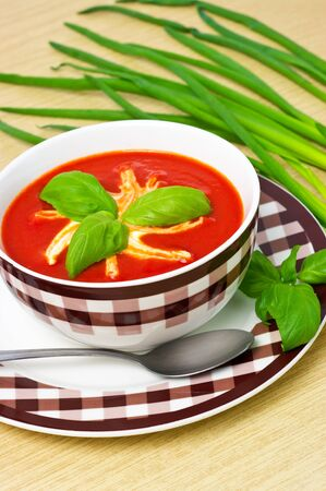 Tomato soup Stock Photo - 12204156