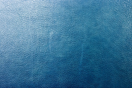 Blue leather for background usage Stock Photo - 12704191