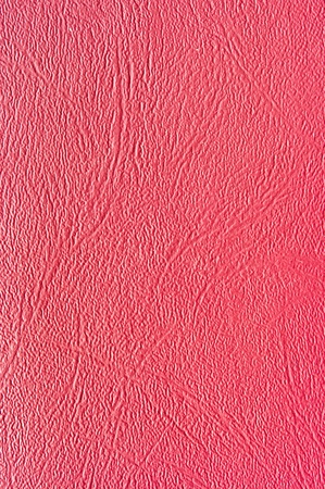 Red synthetic leather for background Stock Photo - 12704364