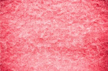 wool fiber: La textura suave y esponjosa manta roja para el uso de fondo Foto de archivo