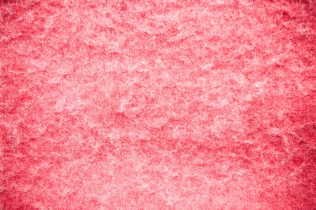 Red fluffy blanket texture for background usage
