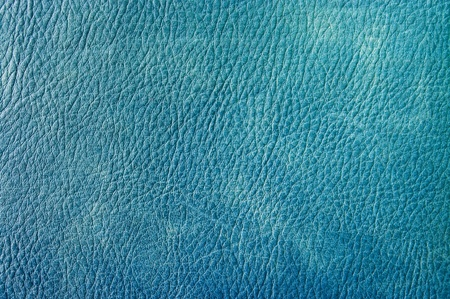 Blue leather for background usage photo