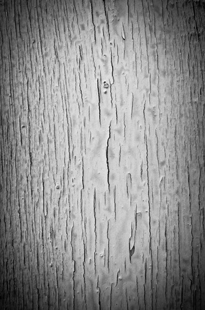 Broken paint on the wall in retro style photo