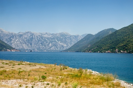 balkan peninsula: Adriatic sea shore on Balkan peninsula