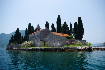 St. George island near Perast, Montenegro photo