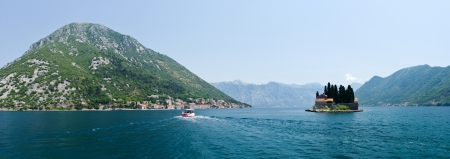 St  George island near Perast, Montenegro photo