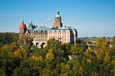 Ksiaz castle near Walbrzych, Poland Editöryel
