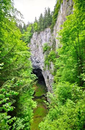 Punkevni cave and Macocha precipice in Moravian Kras, Czech Republic Stock Photo