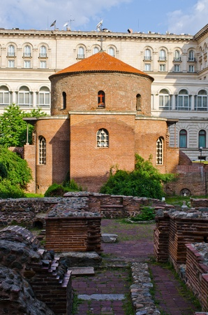 St George rotunda in Sofia, Bulgaria Stock Photo - 21394680