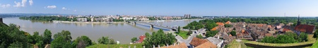 Panoramic cityscape in Novi Sad, Serbia Stock Photo - 21394701