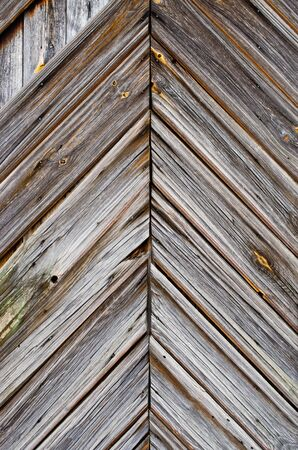 Wooden surface of barn door photo