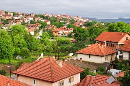 Melnik in Bulgaria - old vineyard town photo