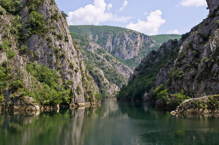 Lake in Canyon Matka - Macedonia