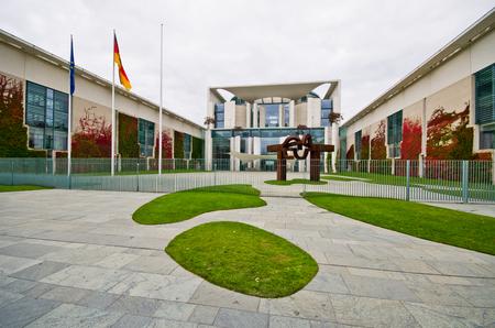 chancellerie: Chancellerie f�d�rale � Berlin, Allemagne Banque d'images