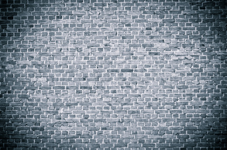 Dark gray brickwall surface for usage as a background Stok Fotoğraf