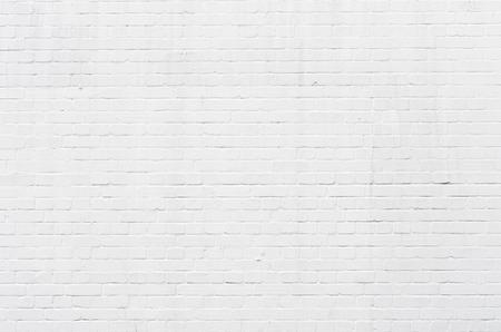Surface blanche mur de briques pour être utilisé comme un fond Banque d'images - 27334766