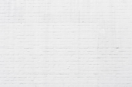 brickwall: White brickwall surface for usage as a background Stock Photo