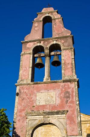 Old belfry on Corfu island - Greece