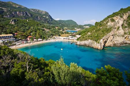 corfu: Paleokastritsa bay on Corfu - Greece