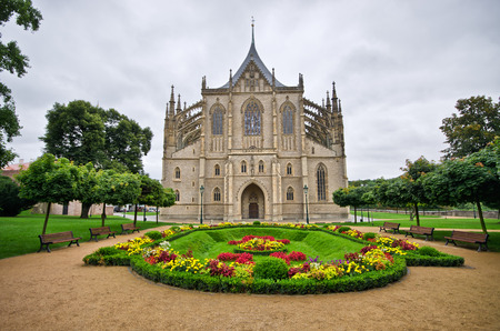Cathedral in Kutna Hora - Czech Republic photo