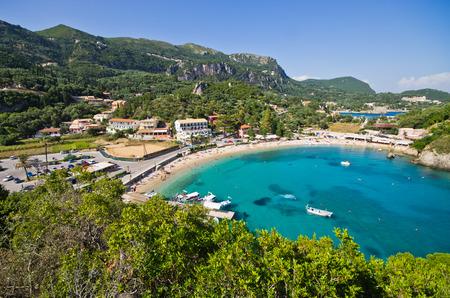 Paleokastritsa bay on Corfu - Greece