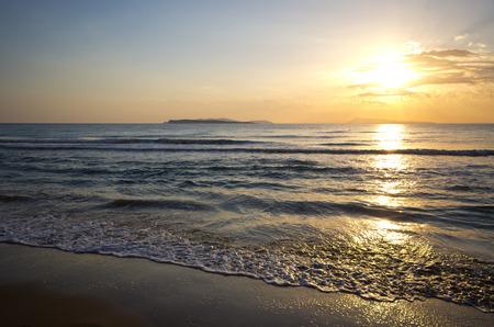 corfu: Sunset on Corfu island - Greece
