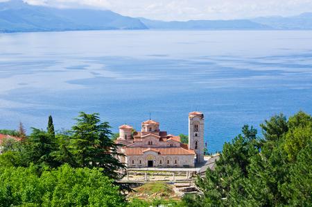 panteleimon: Saint Panteleimon monastery in Ohrid - Macedonia Stock Photo