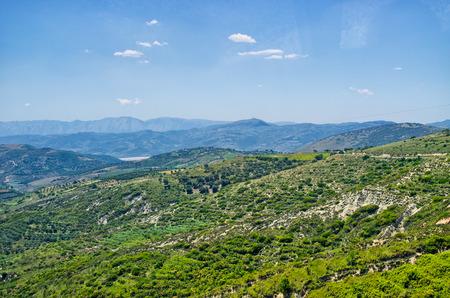 the balkan: Balkan landscape in the hills