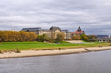 chancellerie: B�timent saxonne Chancellerie d'Etat � Dresde, Allemagne