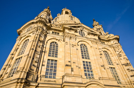 frauenkirche: Old Frauenkirche in Dresden - Deutschland